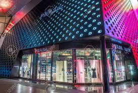 lighting stores in las vegas. LAS VEGAS - JUNE 14 : Exterior Of A Prada Store In Las Vegas Strip On Lighting Stores L