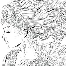 Fantasy Coloring Pages For Adults Vector Coloring Pages Adults