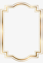 Free Card Borders Designs Card Borders Png Gold Borders And Frames Transparent Png