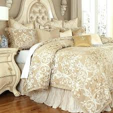 plush comforter bedroom best luxury bedding sets ideas on gold throughout high end headboard full