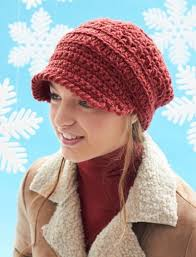 Crochet Newsboy Hat Pattern Beauteous Crochet Newsboy Cap Free Pattern Easy Video Tutorial