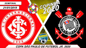 INTERNACIONAL 3 X 1 CORINTHIANS 21/01/2020 | COPA SÃO PAULO DE FUTEBOL JR  2020 [PES 2020] - YouTube