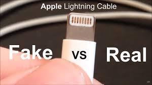lighting cords. Lighting Cord. Fake Vs Real: Apple Lightning Cable Cord Cords F