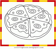 Small Picture Coloring Download Pizza Slice Coloring Page Pizza Slice Coloring