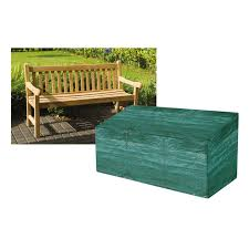 cover for outdoor furniture. Garland 3 And 4 Seater Bench Cover In Green For Outdoor Furniture T