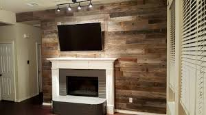 adding a reclaimed wood wall