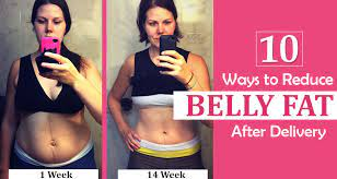 reduce belly fat after delivery