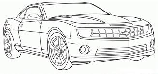 camaro coloring page car child within pages