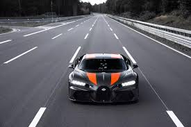 It is a maximum speed record for a production. 2020 Bugatti Chiron Super Sport 300 Top Speed