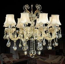 8 lights crystal pendant chandelier lighting in easy clean and nice for villas living room foyer pendant chandelier living room crystal lighting crystal