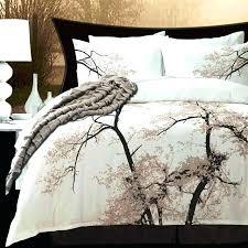 modern duvet cover sets unique flower print cotton blend covers king queen full summer quilt uk