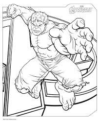 avengers coloring pages hulk