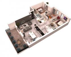 style girlfriend stylish home. Fantastic 13 More 3 Bedroom 3d Floor Plans Amazing Architecture Magazine House Plan Images Style Girlfriend Stylish Home O