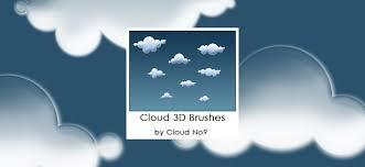 40 Beautiful Photoshop Cloud Brushes Mameara