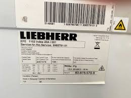 Tủ đông Liebherr EFE-1102 108 lít | Điện Lạnh Nguyễn Khánh