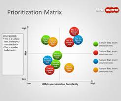 Matrix Chart Powerpoint Free Prioritization Matrix Powerpoint Template Free