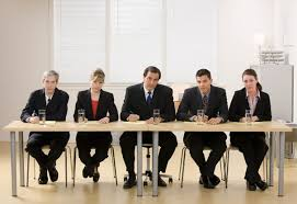 how to face the job interview job mentor panel of co workers about to conduct a job interview