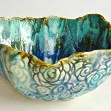 Turquoise Decorative Bowl Best Turquoise Ceramic Bowls Products on Wanelo 10