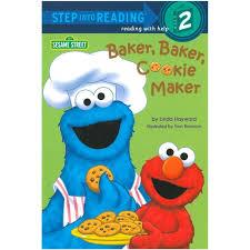 Step Into Reading Sesame Street Baker Baker Cookie Maker