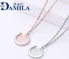 Damira <b>S925 pure</b> silver <b>jewelry</b> simple star white fritilla powder ...