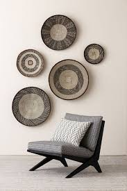 african furniture and decor. African Bowls Diplayed On The Wall As A Bold Decor Feature Furniture And I