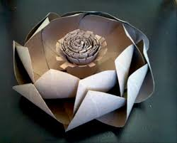 How To Make Big Lotus Flower From Paper How To Make Large Lotus Flowers From Toilet Paper Rolls
