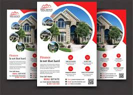 22 Real Estate Flyers Word Psd Ai Eps Vector Formats