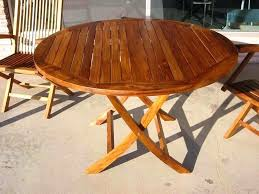 folding outdoor dining tables exquisite design folding patio dining table awesome and beautiful round teak outdoor