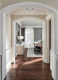 what paint color with dark wood floors