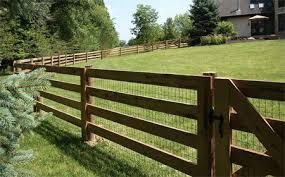 wood farm fence. Interesting Wood 4Rail Farm Fence More Throughout Wood