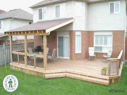 diy deck plans extraordinary patio cover design framing superior build roof over depiction