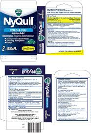 Nyquil Cold And Flu Capsule Liquid Filled Lil Drug Store