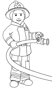 Top Fire Safety Firefighter Coloring Pages - Womanmate.com