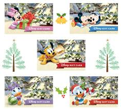 the 2018 disney holiday gift card collection features 30 unique seasonal designs some of the highlights from this year s collection include disney es