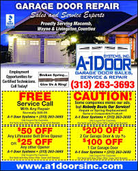 a 1 garage doorsGarage Doors  Garage Door Service Prescott Arizona Coupons