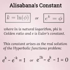 balairiset Instagram post (carousel) Talking about Golden ratio, Euler's  constant and natural logarithm, there is also another math constant. Call  it Alisabana's constant... On July 24, 2015, Hilman P. Alisabana wrote on