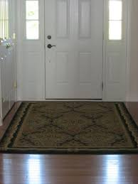Image of: indoor entry rugs pattern