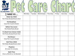 Puppy Feeding Schedule Chart Pet Care Chart Organized Pinterest Brownie Pet Badge