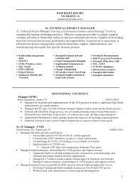 Cover Letter Sample Resume Program Manager Nonprofit Program