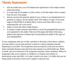 what is a thesis statement in an essay examples for essays what is a thesis statement in an essay examples 6 examples of statements for english essays