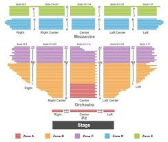 Pantages Theatre Tickets And Pantages Theatre Seating Chart
