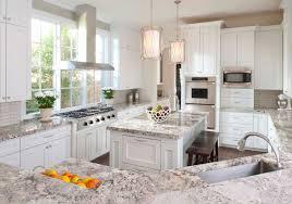 white kitchen cabinets with granite countertops. Kitchen : Stunning White Textured Granite Countertop For Classic Kitch Ideas With Cabinets Countertops