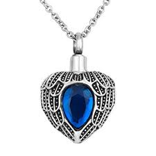 lantern low mens cremation jewelry ashes heart pet urn necklaces memorial pendants