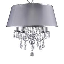 whitfield lighting sylvia 5 light chrome modern contemporary crystal drum chandelier