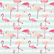Flamingo Pattern Best Flamingo Bird Background Retro Seamless Pattern In Vector Royalty