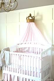 Canopy Bed Crowns Crown Diy Princess Wall – elplaneeta.co