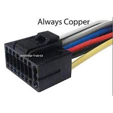 kenwood kdc 148 kdc148 harness wire wiring harness copper image is loading kenwood kdc 148 kdc148 harness wire wiring harness