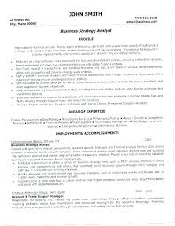 Senior Financial Analyst Resume Sample Sample Business Analyst Resume Entry Level Entry Level Business