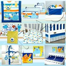 monsters inc crib bedding photo 7 of monsters inc at play crib bedding set by baby monsters inc crib bedding