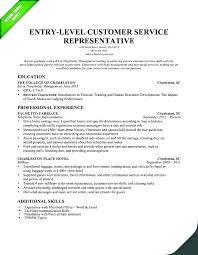 Resume Templates Customer Service Impressive Entry Level Resume Template Free Supergraficaco